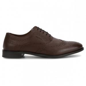 Red Tape Formal Shoes for Men, RRE0323, Teak