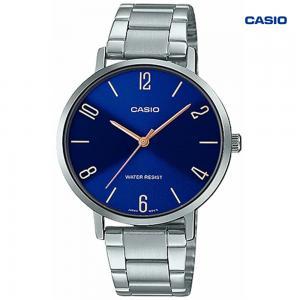 Casio LTP-VT01D-2B2UDF Analog Watch For Women, Silver