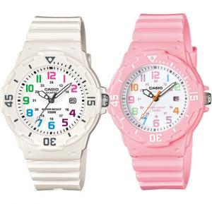2 in 1 Casio Bundle Analog Watch For Girls, Sport Resin Band-LRW-200H-4B2VDF With Casio Analog Watch For Women, White Resin Band-LRW-200H-7BVDF (CN)