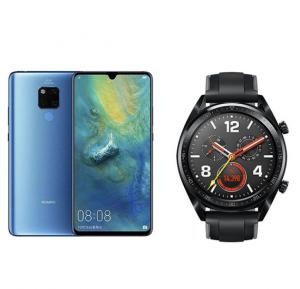 2 In1 Huawei Mate 20 X 128 Gb With Free Huawei Gt Sport Watch V401