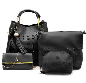4 in 1 Ladies Bag set 064 Black