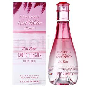Davidoff Cool Water Sea Rose Exotic Summer EDT 100ml For Women