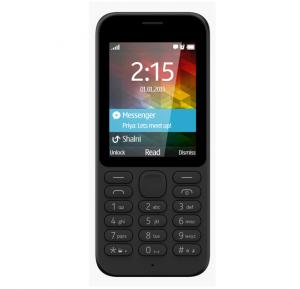 U2 215 Mobile Phone, 1.77 Inch QVGA Display, Dual Sim, Camera- Black