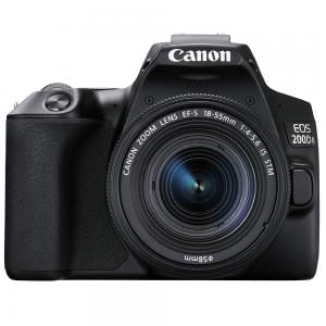 Canon EOS 200D MK II Kit 18-55 STM, DSLR Camera, Wi-Fi And NFC Enabled