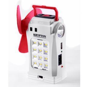 Krypton Power Bank, Fan, Emergency Light All in One - KNE5061