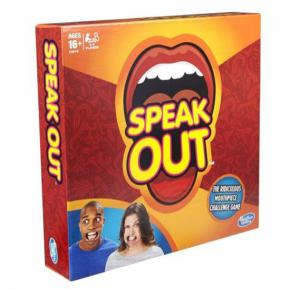 American funny toy speak out Game