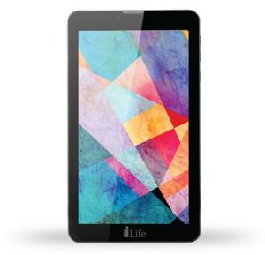 i-life ITELL K4700B Tablet, 7 Inch Display, 1GB RAM, 8GB Storage, Dual Camera, Dual SIM, 4G, Android OS - Black