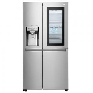 LG Side-by-Side Refrigerator, GR-X257CSAV, 720 L, Stainless Steel