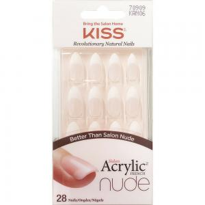 Kiss Impress Salon Acrylic Nude FrenchNails, KSS107COS00117