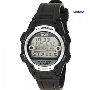Casio W-756-1AVDF Digital Watch For Men, Black