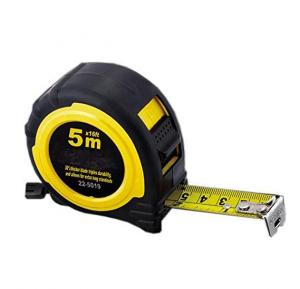 Measuring tape is 5 meters from Giant