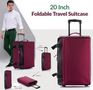 Large Rolling Travel Folding Luggage 20 Inch