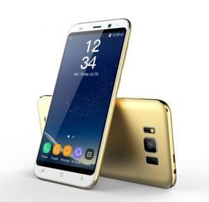 Crescent S8 4G Smart Phone, 5 Inch HD Display, Android 6.0 OS, 2GB RAM, 16GB Storage, Dual SIM, Dual Camera - Gold