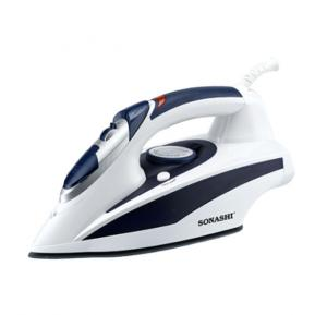 Sonashi Steam Iron With Ceramic Sole Plate -2000W Navy Blue, SI-5017C(VDE)
