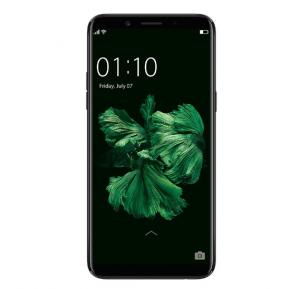Oppo F5 4G Smartphone, 6 Inch Display, Android OS, 4GB RAM, 32GB Storage, Dual SIM, Dual Camera, Face Unlock - Black