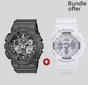 2 in 1  G-Shock  Bundle Watch