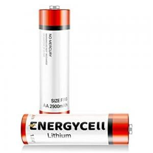 Energycell AA 1.5V Lithium Battery, FR6