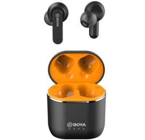 Boya BY-AP4 True Wireless Stereo Earbuds, Black