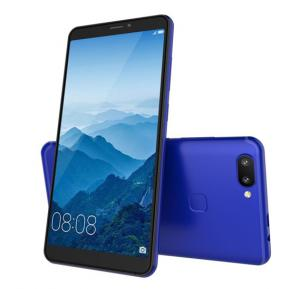 Lenosed Mate 11 4G Smartphones, 5.72 Inch Display, Android OS, 2GB RAM, 16GB Storage, Dual SIM, Dual Camera - Blue