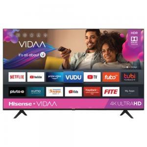 Hisense 43A61G 4K UHD Smart TV, Black