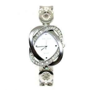 Charles Delon Ladies Watch Stainless Steel With Stones  - CD5511LPWW