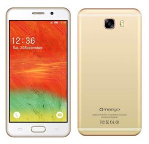 Gmango C9 Smartphone, 4G, 6.0 inch HD Display, Android 6.0, 3GB RAM,32GB Storage, Quad Core, Dual SIM, Dual Camera, Dual Flash- Gold