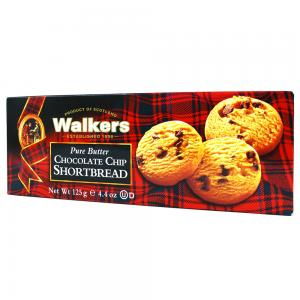 Walkers Pure Butter Choco Chips Shortbread, 46074