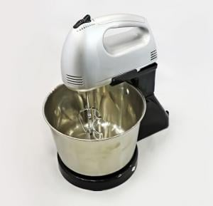 Tolosonic Hand Mixer With Bowl Steel Body - TS-HM1002SB