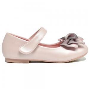 Verde Girls Flat Ballerinas, Pink