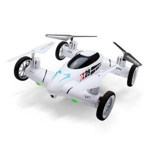 X25-I Space Explorer 2-in-1 4 Channel Air-ground RC Flying Car Quadcopter