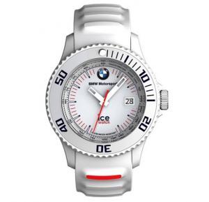 Ice Watch BMW Motorsport Unisex White Band Watch - BM.SI.WE.B.S.13