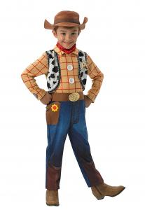 Woody Deluxe Costume For Boys, Size Medium