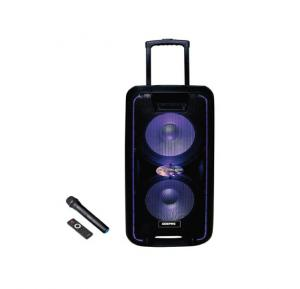 Geepas Portable & Rechargeable Professional Speaker System - GMS8574