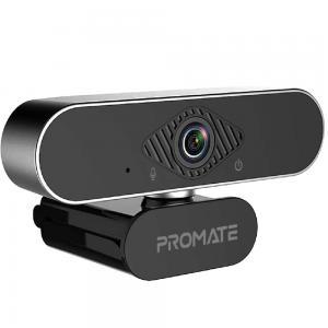 Promate Webcam 1080P with Microphone, Premium Auto Focus Full HD Pro USB Webcam, PROCAM-2