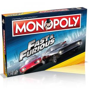 Winning Moves Fast and Furious Monopoly Board Game, C47531