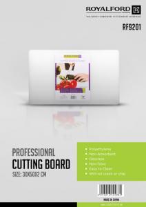 Royalford Professional Cutting Board-30x50x2CM 1x5 RF9201