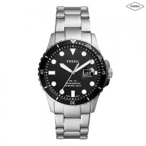 Fossil Analog Black Dial Mens Watch, FS5652