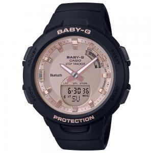 Baby-G Athleisure Series Womens Watch, BSA-B100MF-1ADR, Black