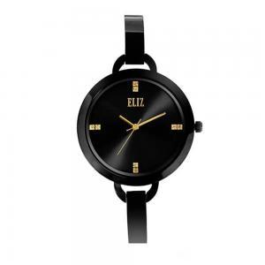 Eliz Splendeur  Womens Stainless Steel Black Plating Wrist Watch ES8539L2NNN