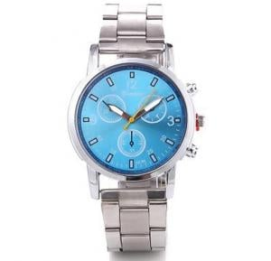 Generic Geneva Business Men Watch - Blue