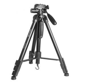 Promate Tripod, Aluminium Alloy 178cm Camera Tripod and Integrated Monopod with 3 Way Pan Head, Quick Release Plate, 4 Section Secure Leg Lock, Bubble Level for Nikon, Sony, DSLR, Precise-180