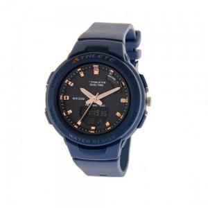 Eliz Stainless Steel Back Blue Case Kids  Athlete Watch ES8665L8BBB