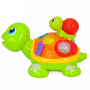Hola Parent-Child Tortoise Interactive  Toy,868,1-3 Years,multi