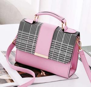 Generic Bag For Women Fashion Brown Crossbody Bag For Lady Girls Korean Style,PINK,CBK00/PK