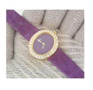 3 Jam Ladies Fashion Watch Velvet 3J52