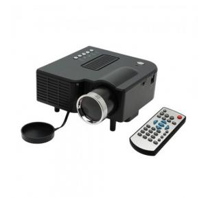 BSNL A28 Mini Projector, HDMI, AV, USB, SD Card Slot - Black