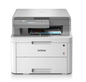 Brother DCP-L3510CDW 3-In 1 Wireless Color Laser Printer