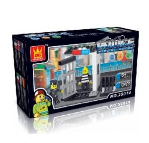 Police Special Action Building Blocks (Jail) DH1638