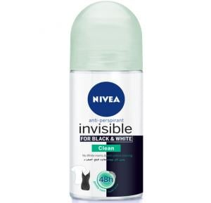 NIVEA Invisible Black & White Clean Roll-On For Women 50 ML
