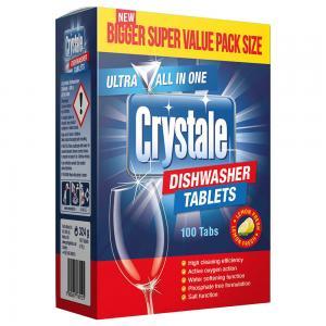 Crystale Dishwasher Tablets 100S